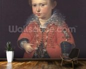 Eleanor Gonzaga, 1600 (oil on canvas) wall mural kitchen preview
