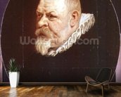 Portrait of a Man mural wallpaper kitchen preview