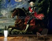 The Cardinal Infante Ferdinand at the Battle of Nordlingen, c.1634 wall mural kitchen preview