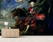 The Cardinal Infante Ferdinand at the Battle of Nordlingen, c.1634 wall mural living room preview