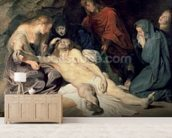 Lament of Christ, 1614 (panel) wall mural living room preview
