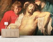 Lament of Christ by the Virgin and St. John, 1614/15 (panel) wallpaper mural living room preview
