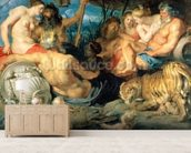The Four Continents, 1615 wall mural living room preview