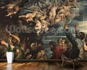 The Assumption of the Virgin Altarpiece, 1611/14 (panel) wallpaper mural kitchen preview
