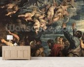 The Assumption of the Virgin Altarpiece, 1611/14 (panel) wallpaper mural living room preview