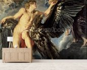 The Kidnapping of Ganymede wall mural living room preview