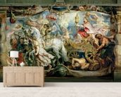 The Triumph of the Church over Fury, Hatred and Discord, before 1628 (oil on canvas) wall mural living room preview