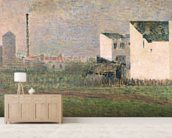 Suburb, c.1882 (oil on canvas) mural wallpaper living room preview