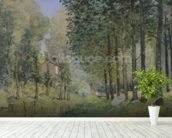The Rest by the Stream. Edge of the Wood, 1872 (oil on canvas) wall mural in-room view