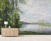 The Riverside Road from Veneux to Thomery, 1880 wall mural living room preview