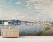 Landscape, 1888 (oil on canvas) wall mural living room preview