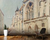 The Church at Moret (oil on canvas) wall mural kitchen preview
