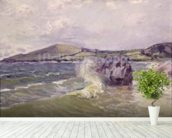 Ladys Cove, Wales, 1897 (oil on canvas) mural wallpaper in-room view