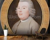 Mr. Hospey Walker, 1783 (enamel colours on Wedgwood plaque) mural wallpaper kitchen preview