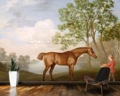 Pumpkin with a Stable-Lad, 1774 (oil on panel) wallpaper mural kitchen preview