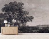 Shooting, plate 3, engraved by William Woollett (1735-85) 1770 (engraving with etching) mural wallpaper living room preview