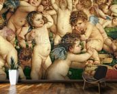 The Worship of Venus, 1519 (oil on canvas) (detail of 38605) wall mural kitchen preview