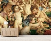 The Worship of Venus, 1519 (oil on canvas) (detail of 38605) wall mural living room preview