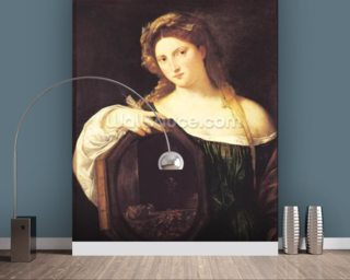 Allegory of Vanity Wall Mural Wall Murals Wallpaper