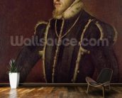 Portrait of Philip II (1527-98) of Spain (oil on canvas) wall mural kitchen preview