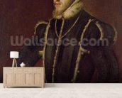 Portrait of Philip II (1527-98) of Spain (oil on canvas) wall mural living room preview