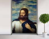 The Saviour, c.1553 (oil on canvas) wallpaper mural in-room view