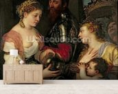 Allegory of Married Life (oil on canvas) wall mural living room preview
