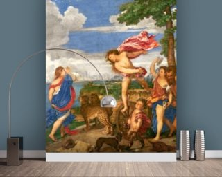 Bacchus and Ariadne Wallpaper Mural Wall Murals Wallpaper