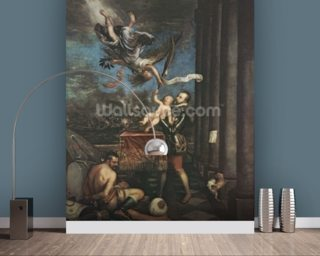Allegory of the Battle of Lepanto Wallpaper Mural Wall Murals Wallpaper