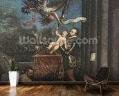 Allegory of the Battle of Lepanto, 1573-1575 (oil on canvas) wallpaper mural kitchen preview