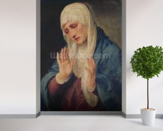 Mater Dolorosa, 1555 (oil on canvas) mural wallpaper