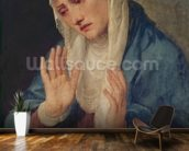 Mater Dolorosa, 1555 (oil on canvas) mural wallpaper kitchen preview