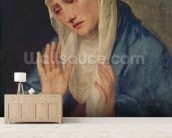 Mater Dolorosa, 1555 (oil on canvas) mural wallpaper living room preview