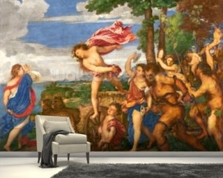 Bacchus and Ariadne Wall Mural Wallpaper Wall Murals Wallpaper