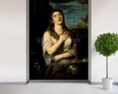 Mary Magdalene, c.1561 (oil on canvas) wallpaper mural in-room view