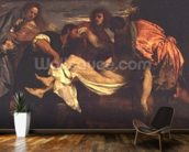 The Entombment of Christ (oil on canvas) wall mural kitchen preview