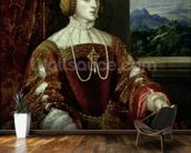 Portrait of the Empress Isabella of Portugal, 1548 wallpaper mural kitchen preview