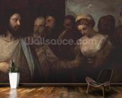Christ and the adulteress, 1512-15 wall mural kitchen preview