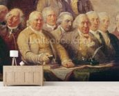Drafting the Declaration of Independence, 28th June 1776, c.1817 (oil on canvas) (detail of 228826) wall mural living room preview