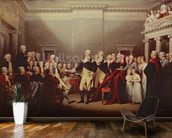 The Resignation of George Washington on 23rd December 1783, c.1822 (oil on canvas) wallpaper mural kitchen preview