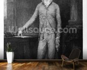 Alexander Hamilton, after the painting of 1792 (engraving) wall mural kitchen preview
