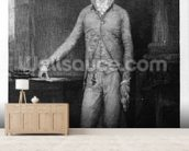 Alexander Hamilton, after the painting of 1792 (engraving) wall mural living room preview