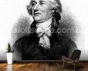 Alexander Hamilton, engraved by Albert Rosenthal, 1888 (engraving) wallpaper mural kitchen preview