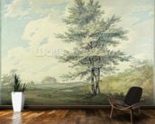 Landscape with Trees and Figures, c.1796 (w/c over graphite on paper) wall mural kitchen preview