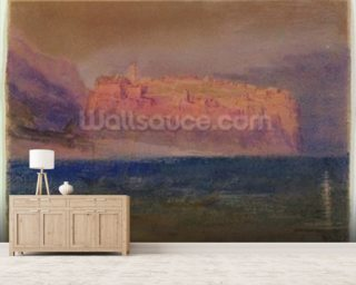 Corsica, (Monaco?) c.1830-35 (w/c on brown paper) wall mural