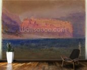 Corsica, (Monaco?) c.1830-35 (w/c on brown paper) wall mural kitchen preview