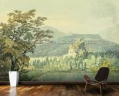 Sir William Hamiltons Villa, c.1795 (w/c over pencil on paper) wall mural kitchen preview