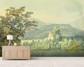 Sir William Hamiltons Villa, c.1795 (w/c over pencil on paper) wall mural living room preview