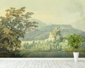 Sir William Hamiltons Villa, c.1795 (w/c over pencil on paper) wall mural in-room view
