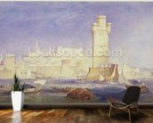Rhodes, c.1823-24 (w/c & bodycolour on paper) wall mural kitchen preview